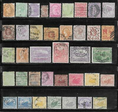 Australia Various States Collection Old Stamps