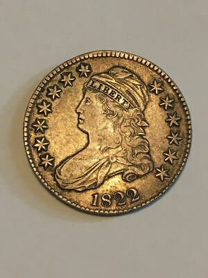 Capped Bust Lettered Edge 1822