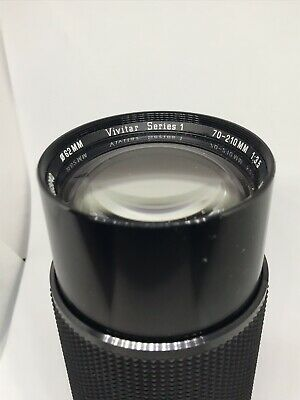 VIVITAR SERIES 1-70-210 mm 1:3.5 LENS MACRO FOCUSING AUTO ZOOM CANON FD Mount