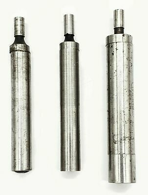 Set Of 3 Metal Edge Finder Center 2 Single 1 Double End Tool