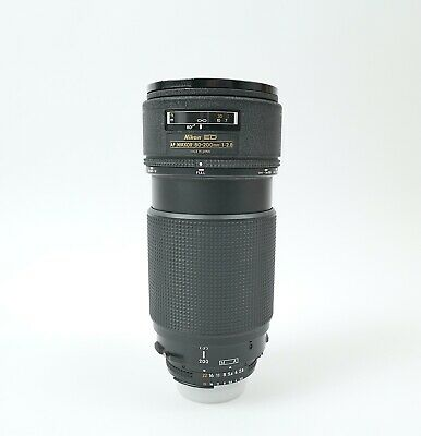 Nikon Nikkor AF ED 80-200mm f:2.8 Pro Zoom lens Top Condition - 56001