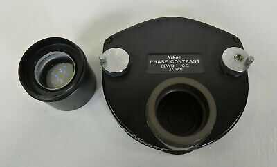 Nikon Phase Contrast ELWD 0.3 Ph1 - 3 & PhL - For Diaphot 200 / 300 Microscope