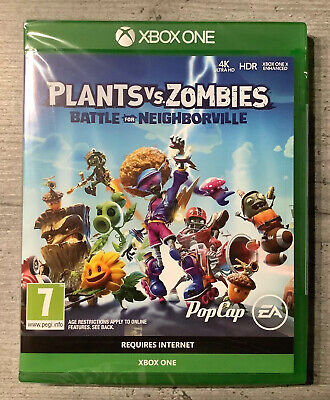 Plants vs Zombies: Battle for Neighborville, Xbox One (New & Sealed)