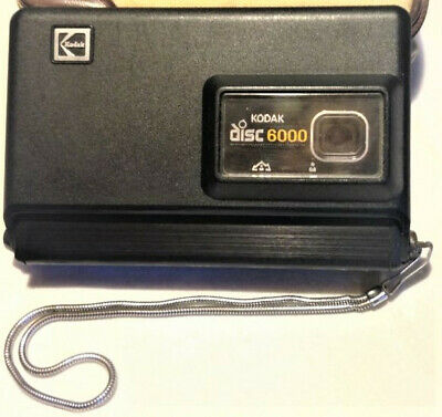 Kodak  Disc 6000 Camera.Superb Condition And Full Working Order.Includes Case.