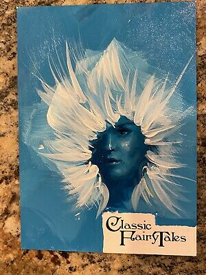 2014 1/1 Sketch Card Ingrid Hardy Sp Classic Fairy Tales Snow Queen