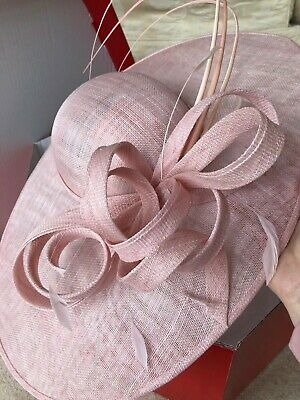 Nigel Rayment Pink Wedding Hat/Fascinator Special Occasion Formal New RRP £195