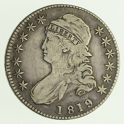 1819/8 Capped Bust Half Dollar - Circulated *4190