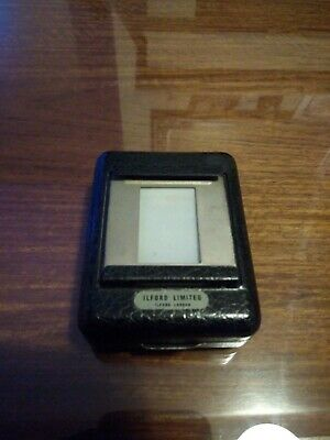 Vintage Ilford Slide Transparency Viewer Collectable