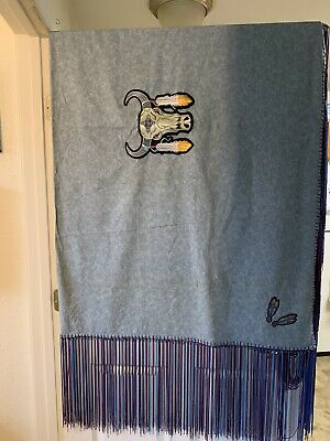 Authentic Native American Hand Made Shawl