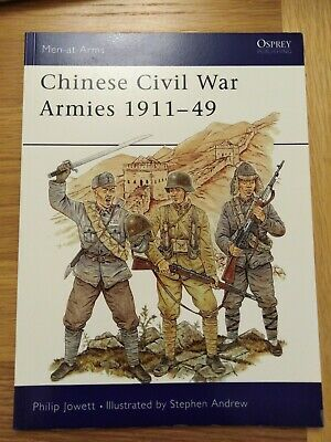 Osprey men at arms Chinese civil war armies  1911 49 Military History Book