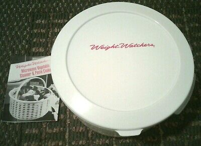 Vintage 1992 Weight Watchers 122oz Microwave vegetable steamer and pasta cooker
