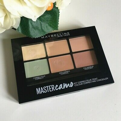 Maybelline Master Camo Colour Correcting Concealer Palette 01 Light Used