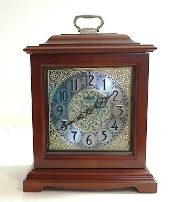 Franz Hermle Mantle Clock With Westminster Chime Quartz 22825-N92115