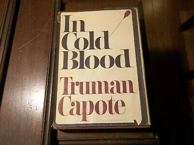 In Cold Blood by Truman Capote 1965 1st Printing HC/DJ