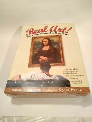 Real Art! Paint By Number Book And Kit