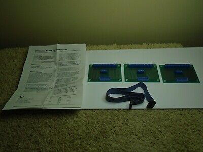LOT OF 3 Octagon Systems ATB-20 TERMINAL BOARDS with Booklet and Cable - USA