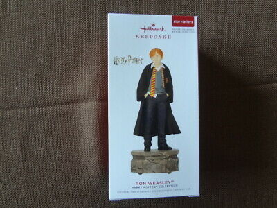 2019 HALLMARK HARRY POTTER RON WEASLEY MAGIC STORYTELLERS ORNAMENT NEW IN BOX