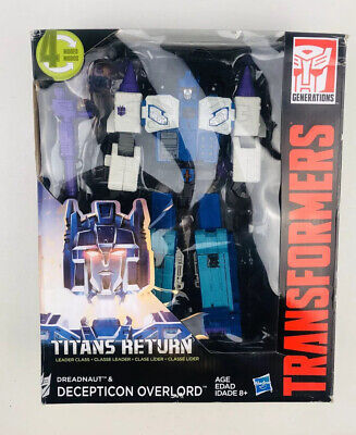 Transformers Titans Return Leader Class Dreadnaut /& Deception Overlord