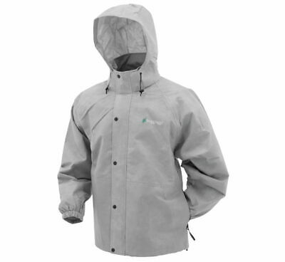 Frogg Toggs Pro Action Rain Jacket Grey PA63123-07-MD M