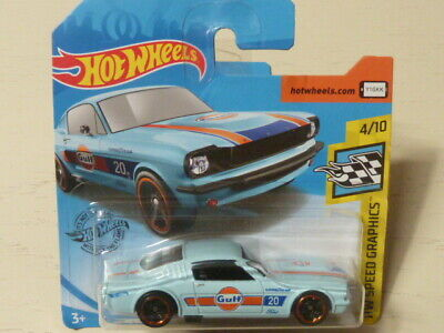 Hot Wheels 2020 Ford Mustang 2+2 Fastback Gulf