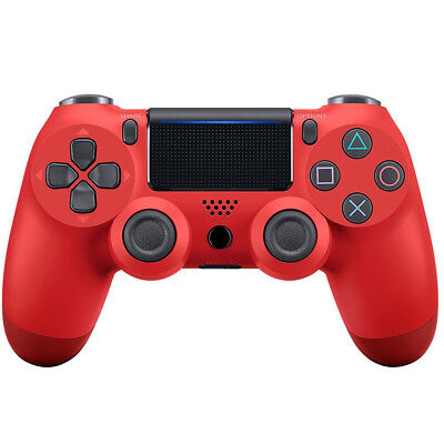 PlayStation 4 (PS4) Wireless Controller Second Generation US SELLER Red Color