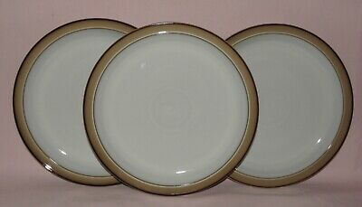 Denby Stoneware, Viceroy, 3x Dinner Plates, 26cm / 10¼ inches, Boxed, Unused VGC