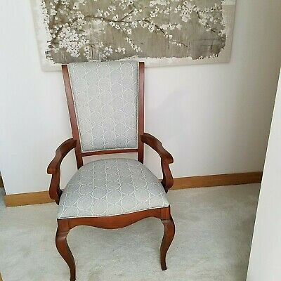 Contemporary / Antique Style Upholstered Dining Chairs (Set of 6)  FINAL LISTING