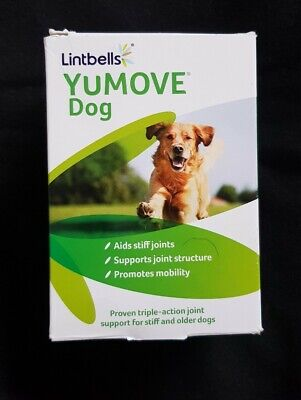 Lintbells YuMOVE Dog Joint Supplement for Stiff and Older Dogs 120 Tablets