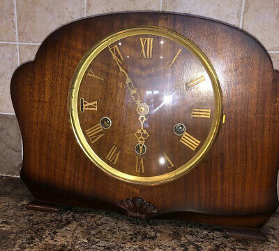 Vintage Smiths Westminster Chiming Mantle Clock ( Repairs )
