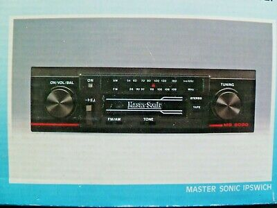 New Classic Car Spindle Fit Car Retro Radio Cassette Player