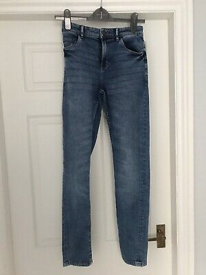 Boys Next Super Skinny Blue Jeans - Age 15 Years, Long Length