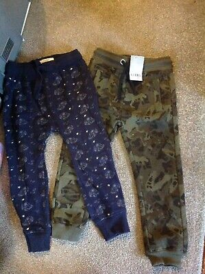 Next Bnwt Camo Joggers Age 4 And Car Joggers Age 3-4