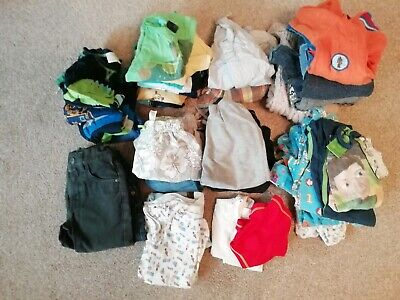 Huge Bundle Of 2-3 Yrs Boys' Clothes (Bundle 2). 36 Items! Variety of Brands