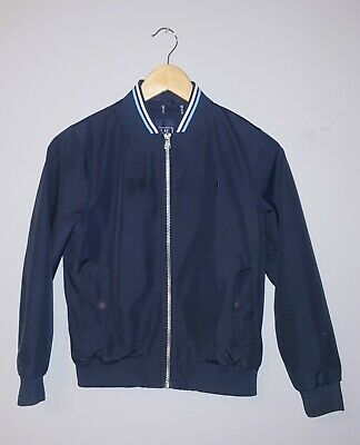 Boys Next Navy Blue Smart Bomber Style Jacket Age 8