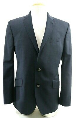 Ted Baker Endurance Jones CT Men's $450 Blazer Sport Coat Size 42R Navy Blue