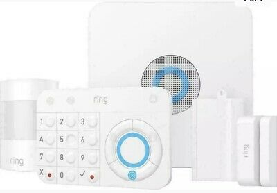 Ring Home Security System 5 Piece Starter Kit Plus 2 Extra Sensors | New in Box