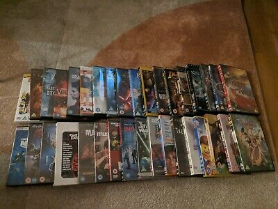 DVD bundle. Mix of Kids, Horror And Action. 35 DVDS.