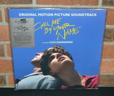 CALL ME BY YOUR NAME - Soundtrack, Ltd Import 180G 2LP RED COLOR VINYL #'d New!