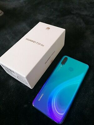 Huawei P30 Lite - 128GB - Blue  4GB RAM (Unlocked) Smartphone Damaged For Parts