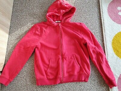Girls Bright Pink Hoodie From M&S Aged 15-16 Years Worn Once