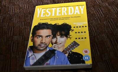 Yesterday (DVD, 2019), still sealed.