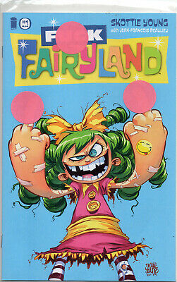 I HATE FAIRYLAND #14 IMAGES OF TOMORROW VARIANT SKOTTIE YOUNG NM 1ST PRINT