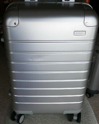 Away the Carry-On Aluminum Edition Luggage - Silver