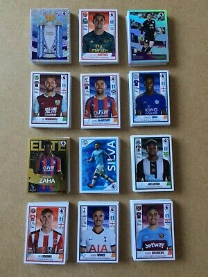 Panini football 2020 complete full set of 636 loose stickers and starter album.