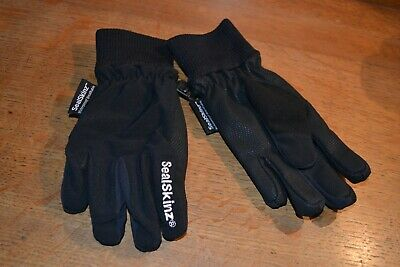 Sealskinz 100% Waterproof Breathable riding gloves age 10 child unisex