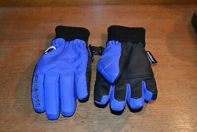 Sealskinz 100% Waterproof Breathable warm gloves age 6 to 9 child unisex blue