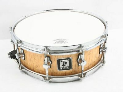 Used SONOR S-1405M Snare Drum W/Soft Case Free International Shipping