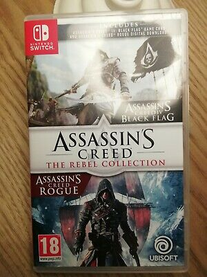 Assassins Creed: The Rebel Collection (Nintendo Switch). Perfect condition