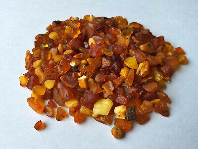Baltic Amber Stones Natural Raw Amber Beads Amber Small Chips Undrilled #S7