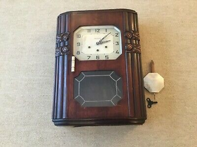 Spares/Repair Art Novoue Westminster Chiming Wall Clock (Vedette)Buyer Collects